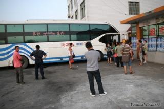 Postój i nasz autobus
