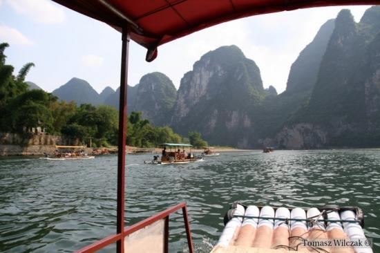Spływ rzeką Li (2)