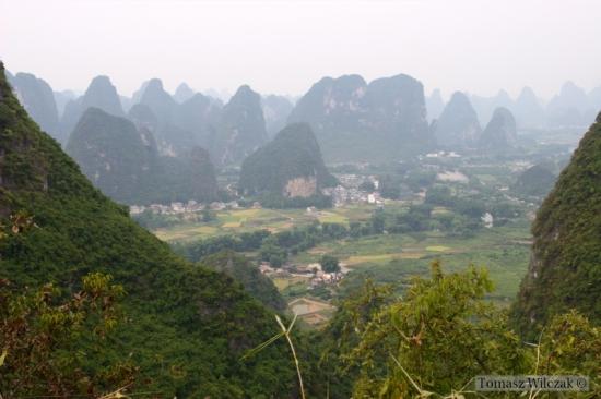 Widok na okolice Yangshuo (1)