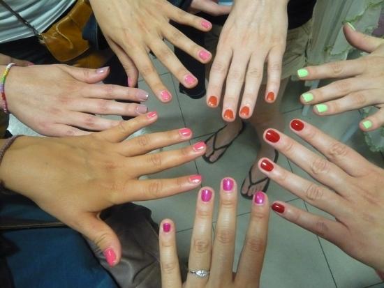 Manicure po chińsku