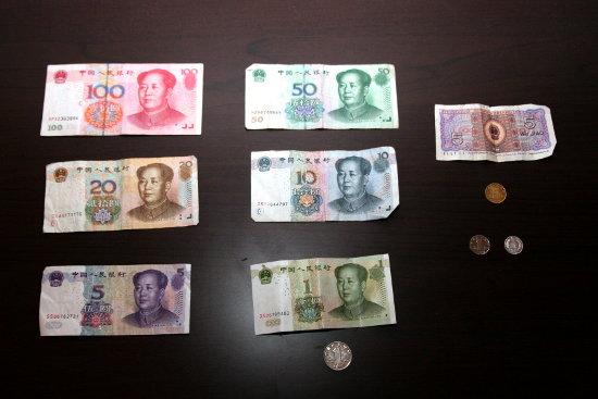 Renminbi - banknoty i bilon