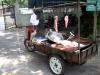 Mobilny stragan z mięsem