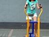 Asia na miejskiej siłowni