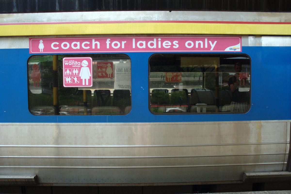 Wagon tylko dla kobiet